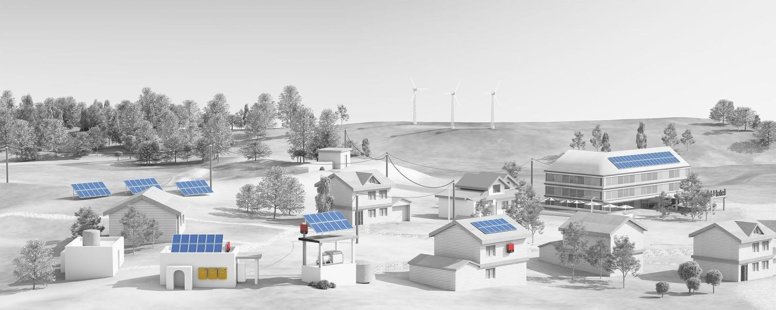 Резервні та гібридні домашні сонячні електростанції