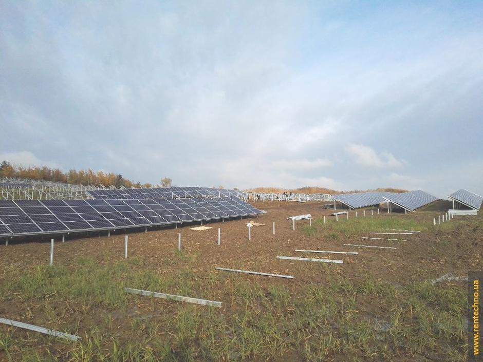 Наземная солнечная электростанция