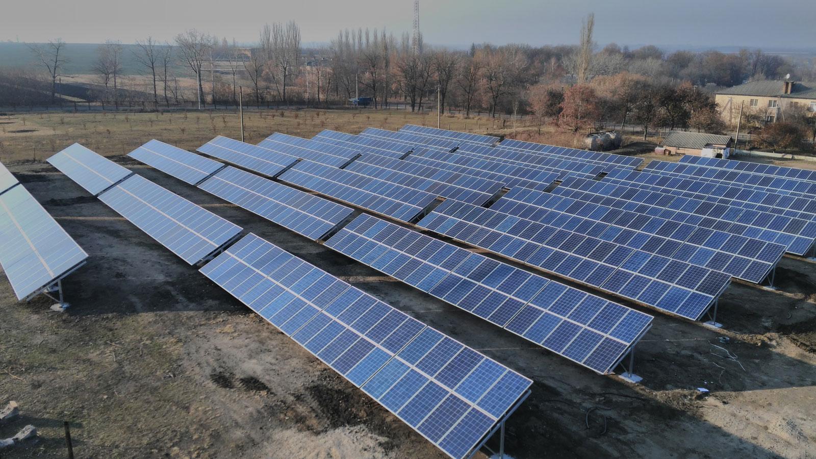 Солнечные электростанции средней мощности
