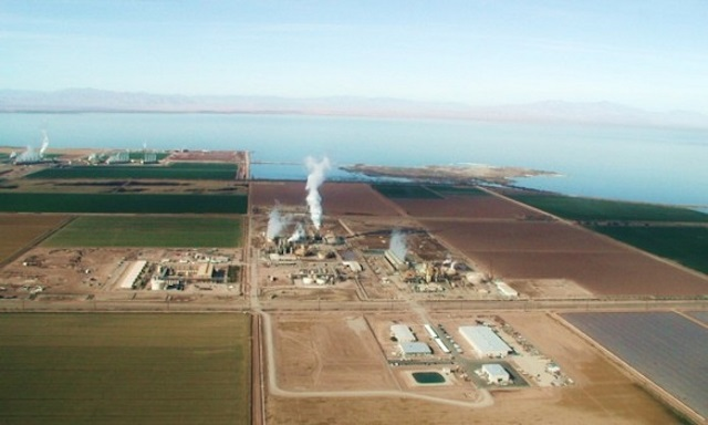 Photo 6. CalEnergy, California. Source: ThinkGeoEnergy Online Edition - CalEnergy to invest up to $ 1billion in improvements to geothermal plants, Aug'15.