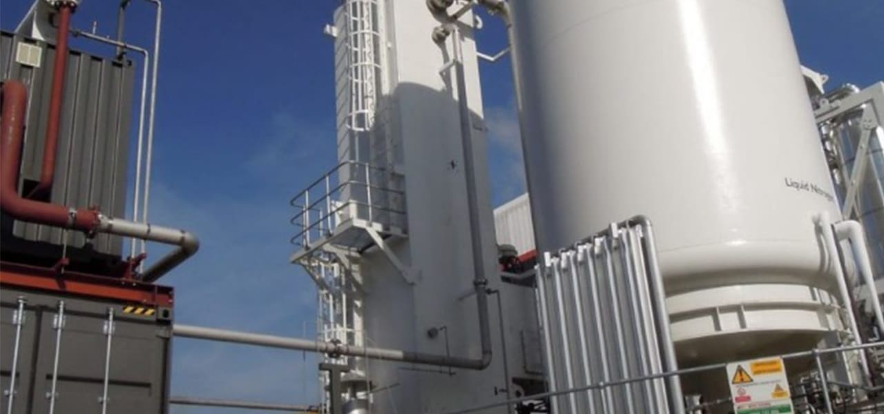 Photo 3. Highview Power plans to build its first major commercial facility in the UK at 50 MW / 250 MW * h. Source: Power Engineering Online Edition. Highview Power bringing 50-MW cryogenic storage plant to UK. Oct'19.