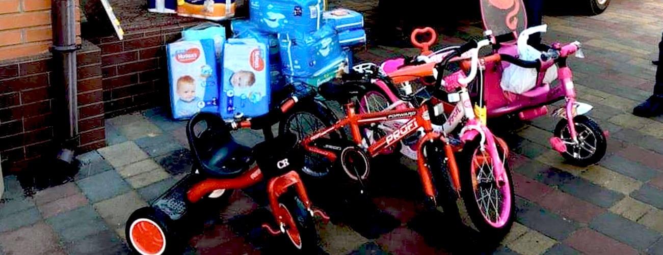 Подарунки вихованцям спеціалізованого Будинку Малятка для дітей з ускладненнями, у місті Новоград-Волинський, Житомирської області