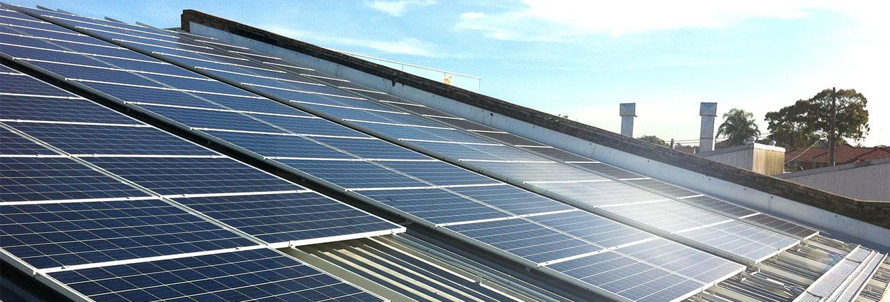 крышная солнечная электростанция