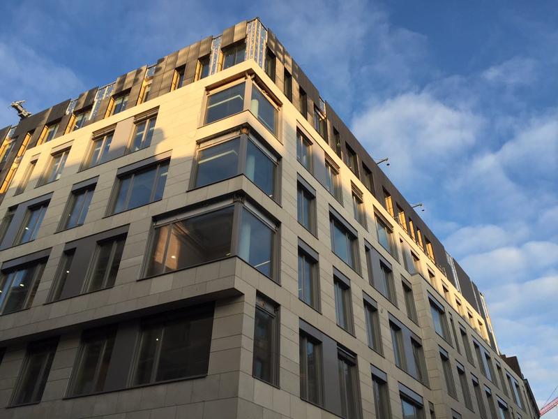 Офисное здание в центре Брюсселя